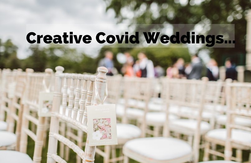 Have you gotten creative with a #covid #wedding?A couple in the U.K spent $3400 (CDN) on making cardboard cut-outs of the guests that couldn't make it to their wedding.
