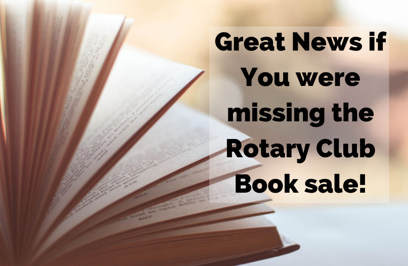 The Brandon Rotary Book Sale is Back