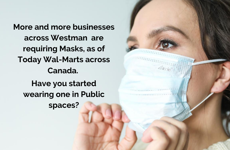 Will this change where you shop? If you Haven't been wearing a Mask, will you start?