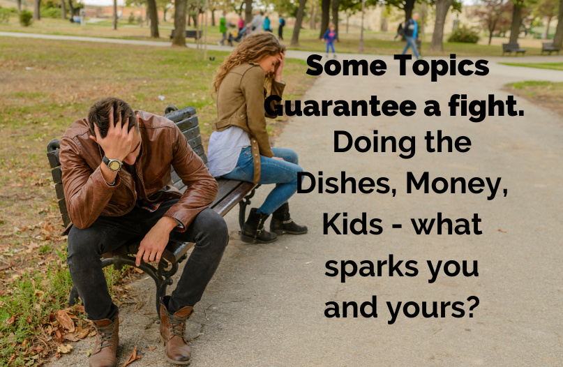 Road Trips, Backing in the Trailer, Money... what guarantees a scrap in your Home?