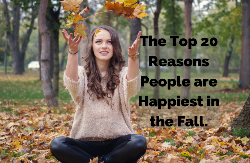 56% of People Say They're Happier in Autumn Than Any Other Season: Here's The Top 20 Reasons