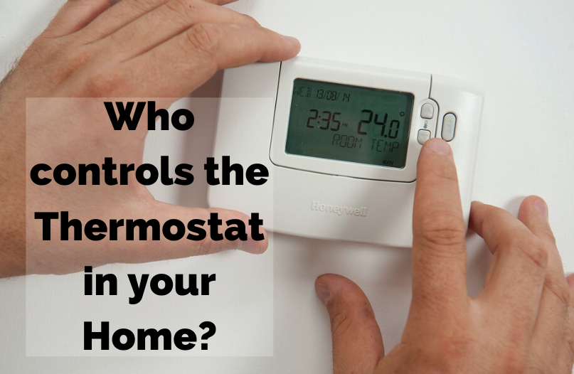 Two Hands on a Thermostat