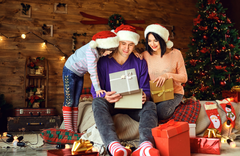 Get any Memorable Holiday Reactions to Gift Giving This Year?